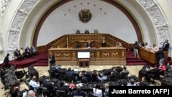 Wenezuelanyň aglabasy oppozisiýadan ybarat Milli assambleýasy