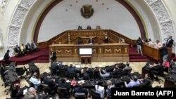 Народното собрание на Венецуела во кое опозицијата има мнозинство