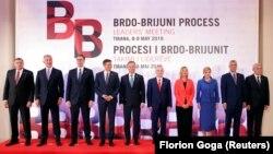 Državnici, sudionici samita Procesa Brdo-Brioni