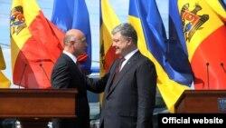 Павел Филип и Петр Порошенко