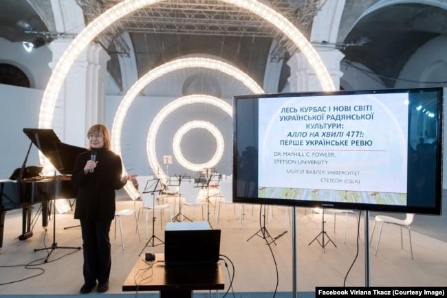 Вірляна Ткач представляє віднайдену партитуру першого українського мюзикла