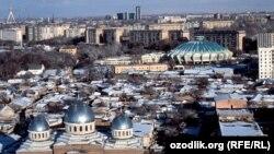 Տեսարան Ուզբեկստանի մայրաքաղաք Տաշքենդից, արխիվ