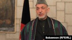 Авганистанскиот претседател Хамид Карзаи.