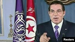 Президент Туниса Зин эль-Абидин Бен Али