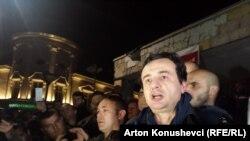 Albin Kurti, pas lirimit
