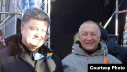 З кандыдатам на пасаду прэзыдэнта Ўкраіны Пятром Парашэнкам