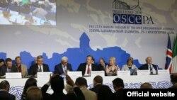 Під час 25-ї щорічної сесії ПА ОБСЄ у Тбілісі, фото 1 липня 2016 року