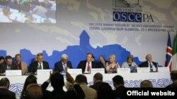Сессия Парламентской ассамблеи ОБСЕ в Тбилиси, 1 июля 2016 г.