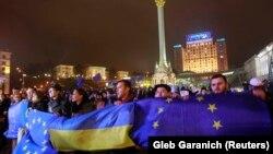Protestat në Kiev