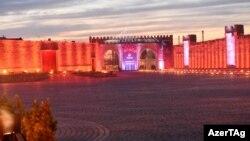 Ադրբեջան - Բաքվում հանդիսավոր արարողությամբ վառում են Եվրոպական առաջին խաղերի կրակը, 26-ը ապրիլի, 2015թ․