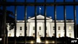 نمایی از کاخ سفید آمریکا