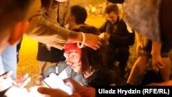 Belarus - injured in Minsk