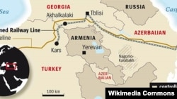 Bakı-Tbilisi-Qars dəmiryolu xətti