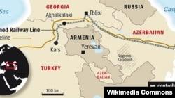 Azerbaijan -- Baku-Tbilisi-Kars railway line