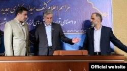 مراسم اعلام کشف میدان گازی ارم در روز یکشنبه، ۲۱ مهر