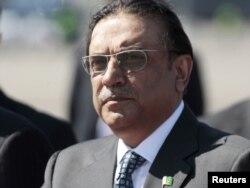 د پاکستان ولسمشر اصف علي زرداري