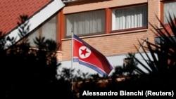 Солтүстік Кореяның Римдегі елшілігі. 3 қаңтар 2019 жыл.