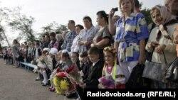 День Знань у Слов'янську, 1 вересня 2014 року