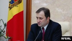 Premierul Vlad Filat la conferința de presă de astăzi