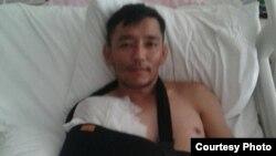 Али Тимур на лечении в больнице