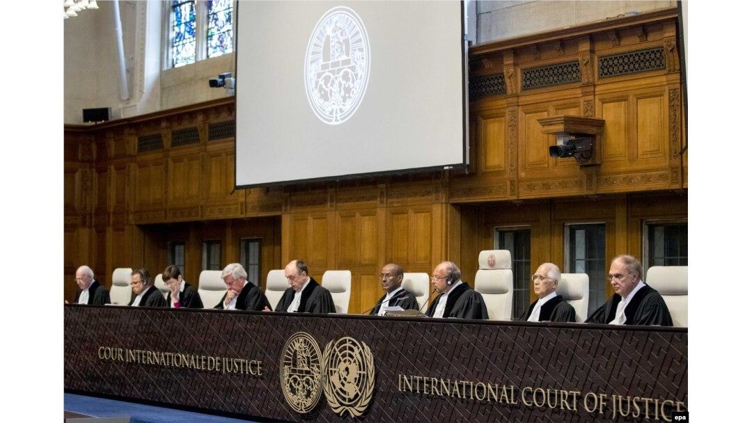 Розгляд позову України проти Росії у Міжнародному суді ООН. Гаага, 19 квітня 2017 року