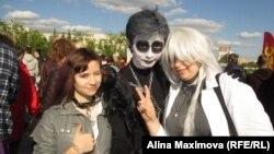 Новосибирские поклонники группы Marilyn Manson