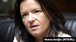 """""""Za zdravu demokratiju slobodni mediji su veoma važni"""", ocjenjuje Tanja Fajon."""