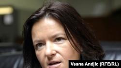 Известувачот за визна либерализација Тања Фајан.