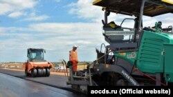 Будівництво дороги Сімферополь-Євпаторія-Мирний