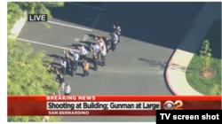 تصاویر تلویزیونی اولیه از جریان حمله