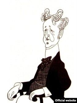 Caricatură a lui Siegfried Wagner