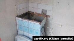 Подлежащий сносу один из частных домов в Намангане.