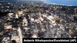 Во пожарот кај Атина летоска загинаа 99 луѓе