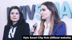 Юлія Ресенчук та Оксана Біла в Kyiv Smart City Hub