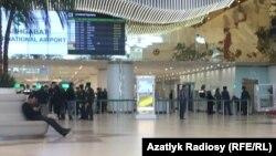 Aşgabadyň halkara aeroporty (arhiw suraty)
