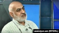 Вардгес Гаспари в студии Азатутюн ТВ, Ереван, 20 ноября 2018 г․