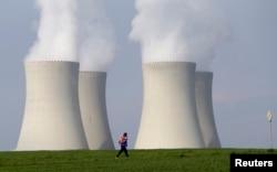 Одна из двух чешских АЭС - Темелинская
