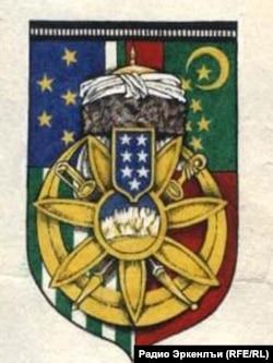 Мусаясул Халилбегица бахъараб Кавказалъул МугIрул Республикаялъул герб