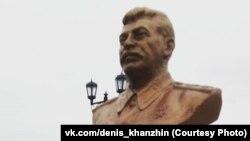 Сургутта Сталин бюстын 15 сентябрьдә генә куйганнар иде