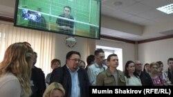 Судебное заседание о продлении ареста Анны Павликовой
