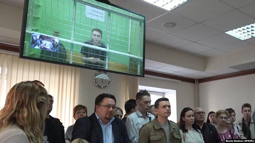 """Слушания по делу """"Нового величия"""" в Мосгорсуде. 11 сентября"""
