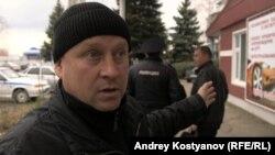 Участник Тракторного марша фермер Николай Маслов