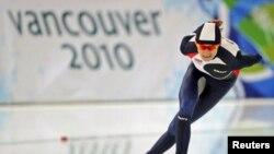 Мартина Сабликова из Чехии - двукратная олимпийская чемпионка Ванкувера
