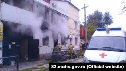 Последствия взрыва газа (архивное фото)