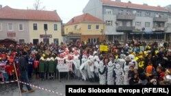 Zašto nisu spalili lutku Alojzija Stepinca: Dragan Bursać (na fotografiji: karneval u Livnu, 2018.)