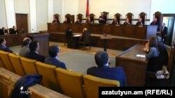 Հայաստանի Սահմանադրական դատարանի նիստը, արխիվ