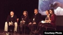 Maldošević, Rathfelder, Deprez - diskusija nakon projekcije filma u Pragu