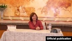 Сьвятлана Алексіевіч у Пэкіне. Фота з сайту http://belarusian.cri.cn/
