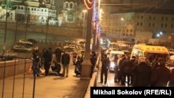 Борис Немцов кісі қолынан қаза тапқан Мәскеу ауданы.