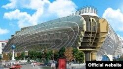 Проект реконструкції Будинку профспілок від «Київ-Проект»